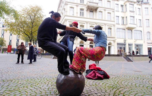 Art of Encountering VI | Bonn - City Walk 16.10.2015