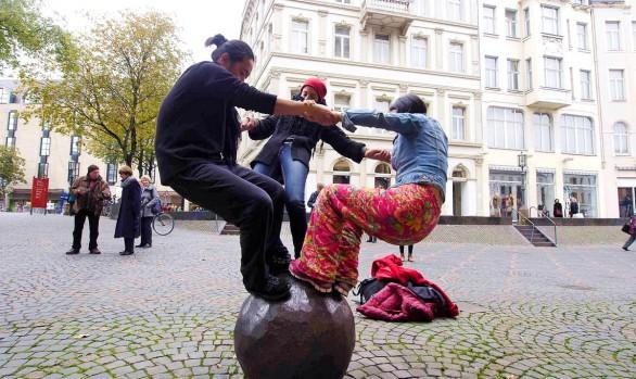 Art of Encountering VI | Bonn - City Walk 16.10.2015