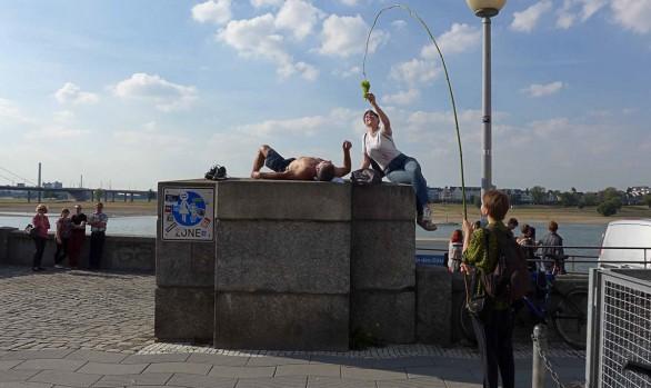 Verlaufen in Düsseldorf