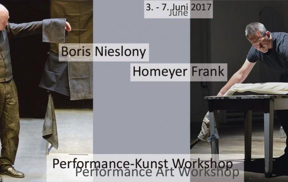 Performance Art Workshops | Kunstpavillon Burgbrohl | June 2017