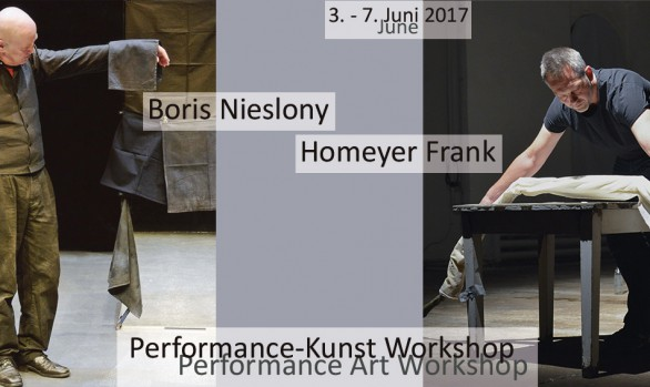 Performance Art Workshops | Kunstpavillon Burgbrohl | June 2017