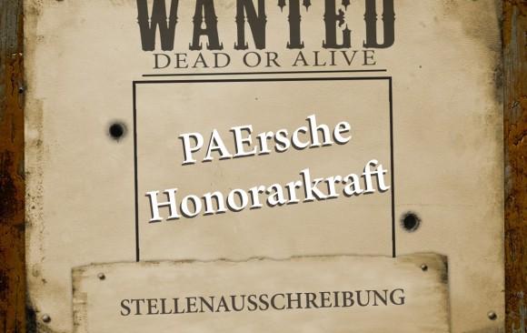 WANTED - PAErsche Honorarkraft