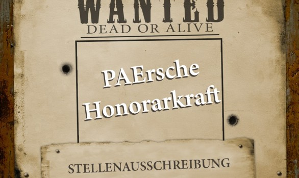 WANTED - PAErsche Honorarkraft