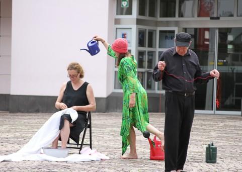 punktgenau : Feine Setzung | Marktplatz Ahrweiler
