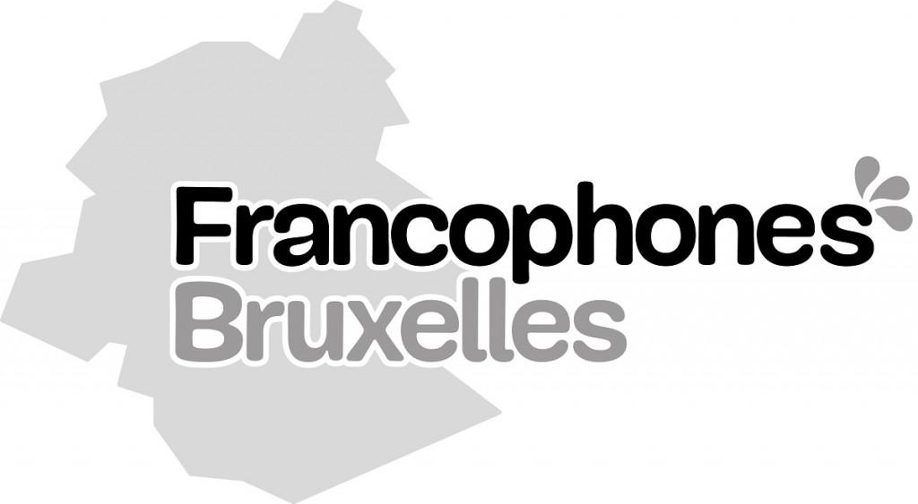 Logo Francophones Bruxelles GRIS