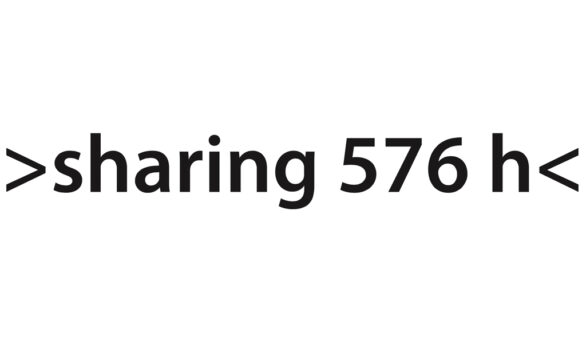 sharing 576 h | 24 days - 24hours| 01.-24.09.2017