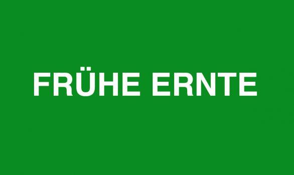 Frühe Ernte | Cologne 16.03.2019
